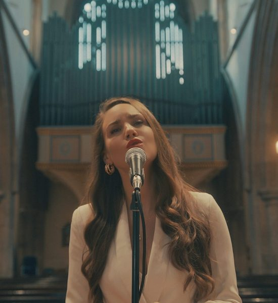 Claire Rossi singing in Church London